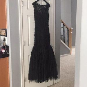 Sheer mermaid gown size 12